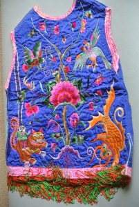 Chinese Vintage Minority Embroidered Tunic