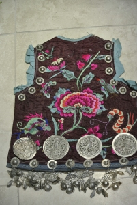 vintage Chinese Minority tunic - detail