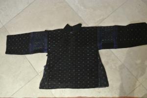 vintage Chinese Minority textile - detail jacket