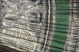 vintage Chinese Minority textile - detail skirt