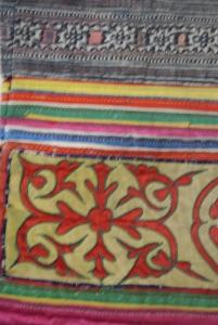 vintage Chinese Minority textile - detail