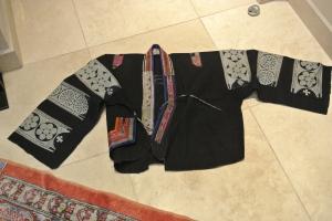 vintage Chinese Minority textile - jacket