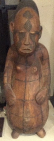 Wood Mangbetu Sculpture Couple